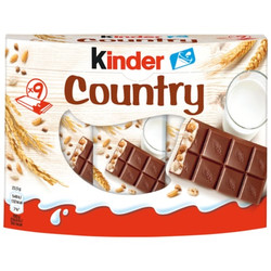 Ferrero kinder Country 9ST 211,5g